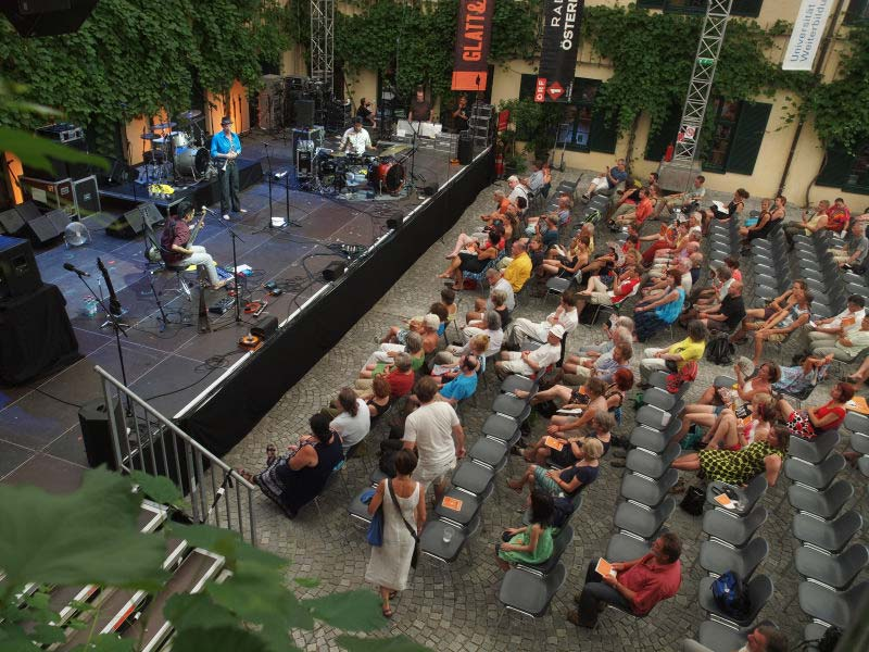 En acción. Krems, Austria.