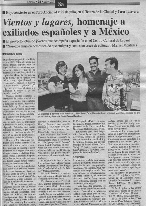 Refree, Silvia Pérez Cruz, Mauricio Sotelo y Manel Montañés