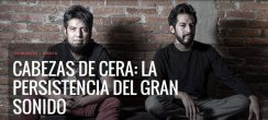 La persistencia del gran sonido. Luis Enrique Pérez