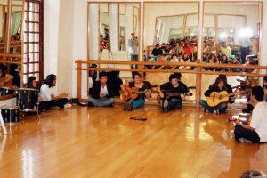 Taller Juvenil en el Centro Cultural de la SHCP